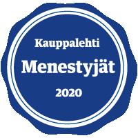 massitukku Kauppalehden menestyjä 2020